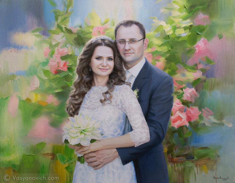 Портрет в свадебном